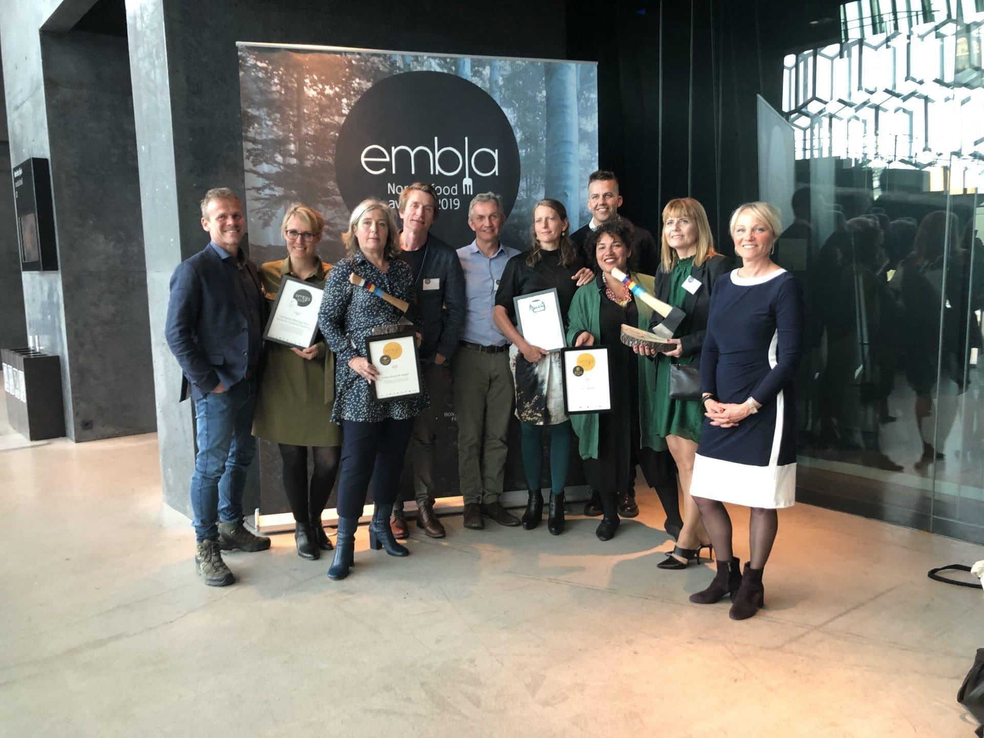 Embla prisen 2019