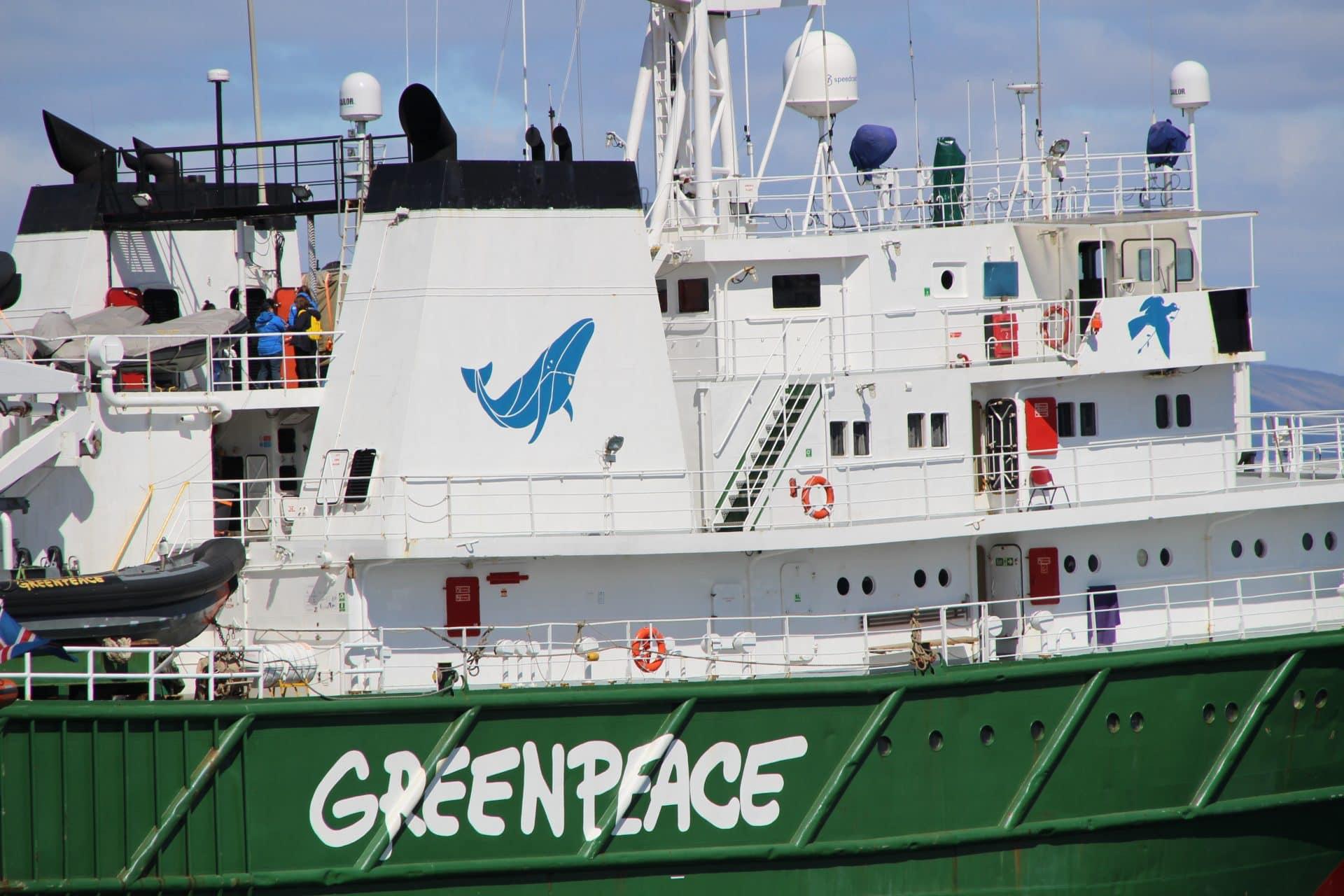 Greenpeace på Island